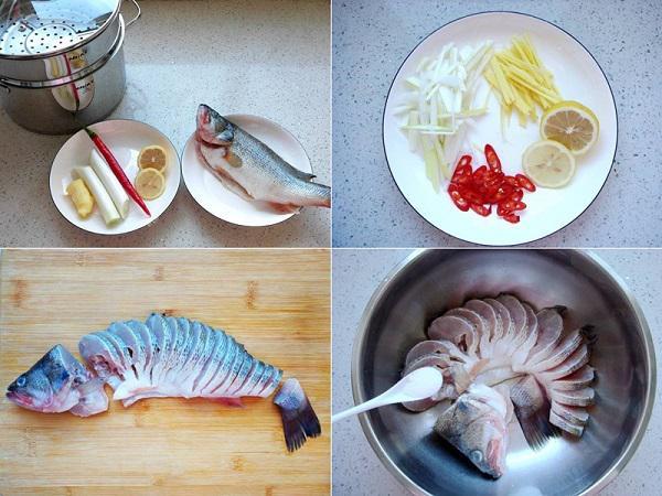 Bữa trưa không dầu mỡ với món cá hấp, ai ăn cũng tấm tắc khen - 1
