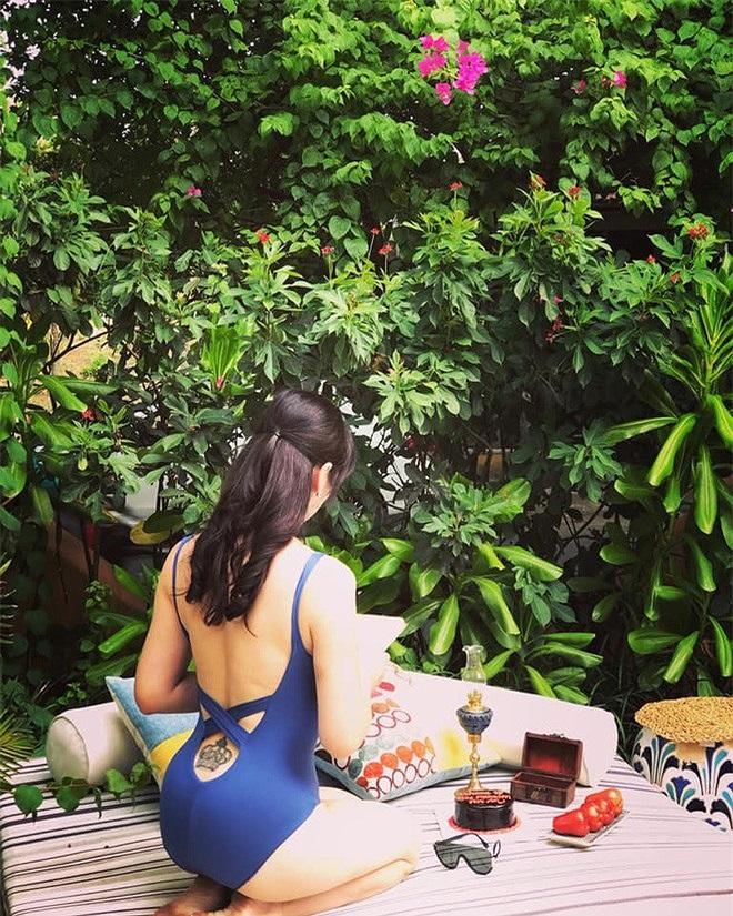 Vợ BTV Quốc Khánh khoe ảnh bikini gợi cảm - 7