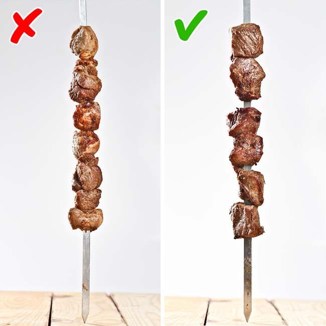 9 sai lầm khiến bạn làm món thịt xiên nướng không bao giờ ngon nổi - 1