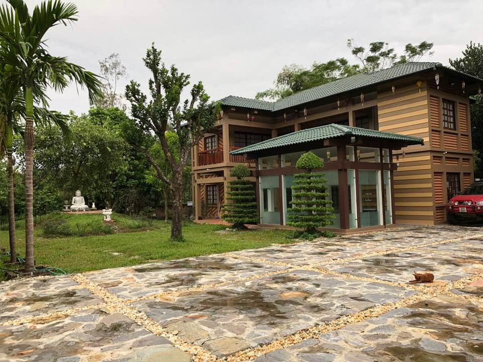 Hé lộ khuôn viên nhà vườn tại Sóc Sơn của con trai Chế Linh và bà xã hơn 4 tuổi - 5