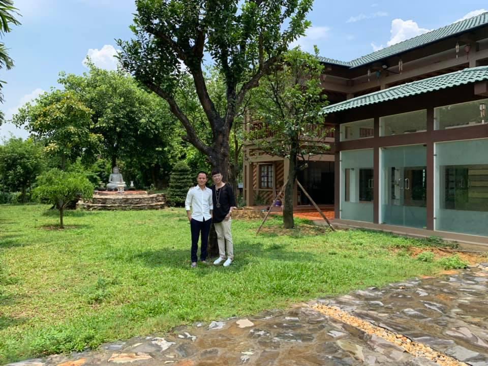 Hé lộ khuôn viên nhà vườn tại Sóc Sơn của con trai Chế Linh và bà xã hơn 4 tuổi - 3