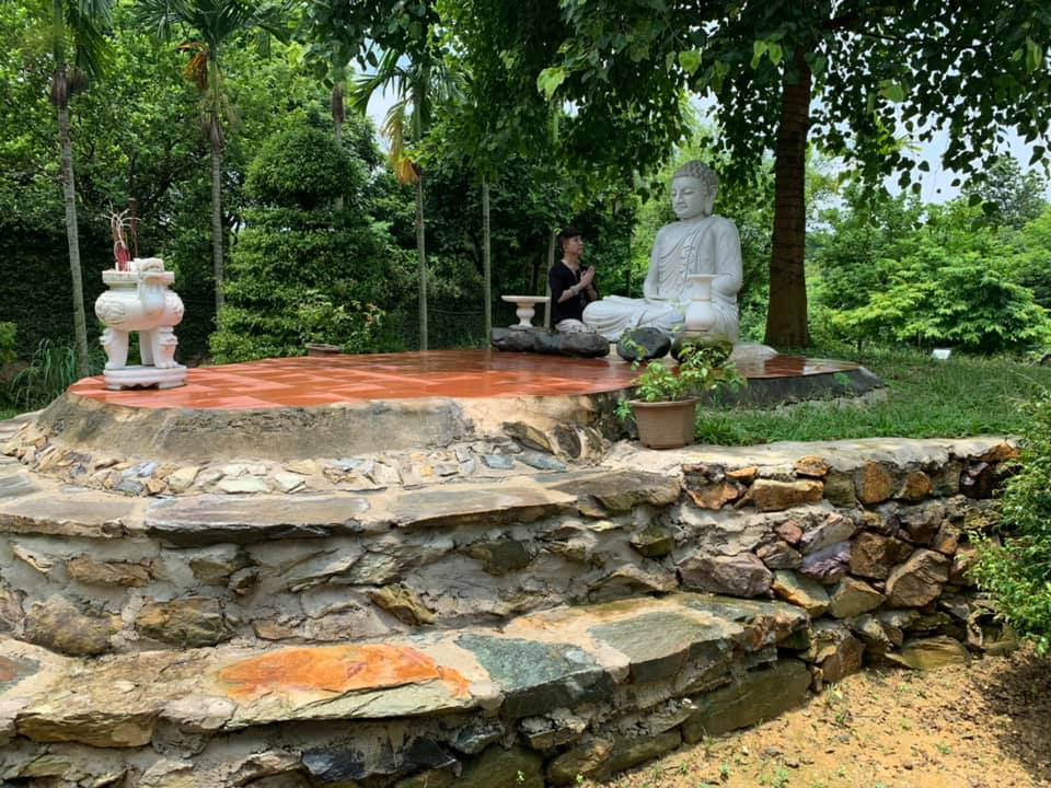 Hé lộ khuôn viên nhà vườn tại Sóc Sơn của con trai Chế Linh và bà xã hơn 4 tuổi - 7