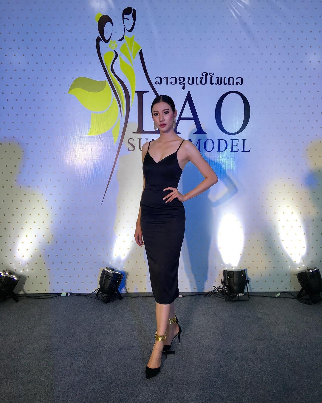 Ngỡ ngàng nhan sắc như tiên sa của tân Hoa hậu Hoàn vũ Lào - 9