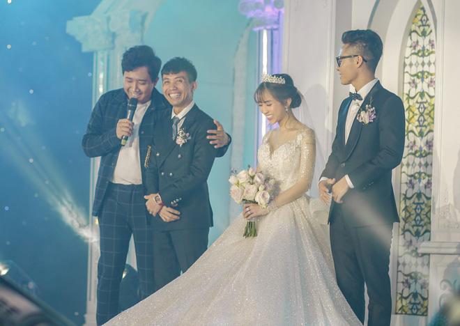 Đại gia Minh Nhựa lái siêu xe 80 tỷ đưa 'ái nữ' vào lễ đường, đám cưới toàn nghệ sĩ nổi tiếng - 10