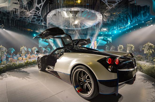Đại gia Minh Nhựa lái siêu xe 80 tỷ đưa 'ái nữ' vào lễ đường, đám cưới toàn nghệ sĩ nổi tiếng - 6