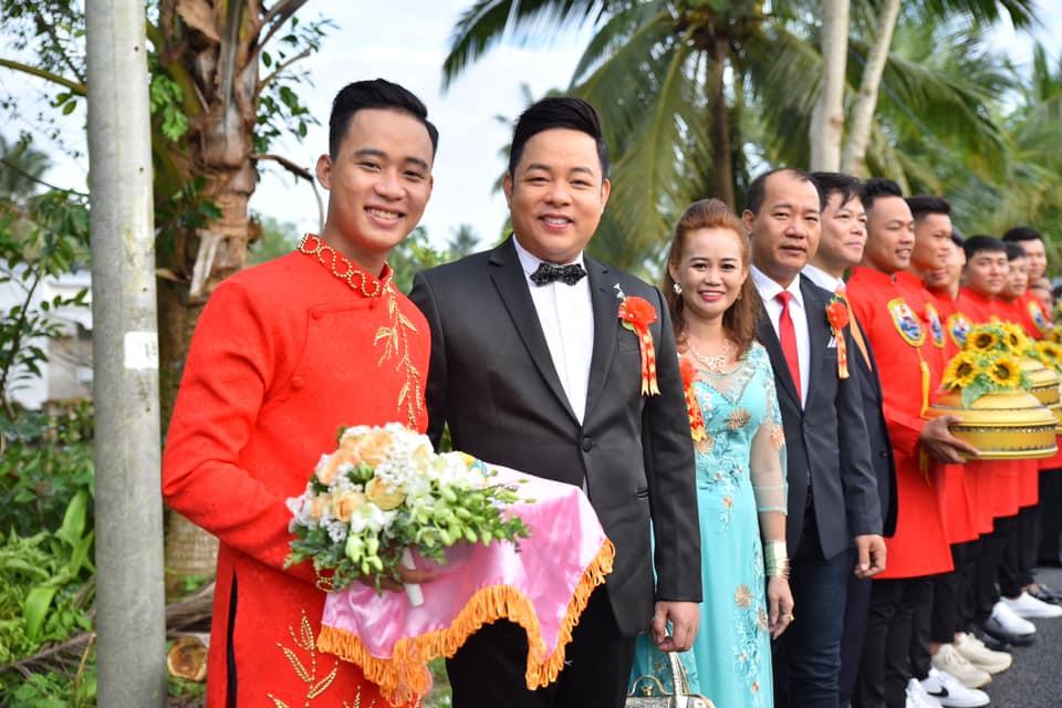 Quang Lê 39 tuổi đã làm bố chồng, về miền Tây cưới vợ cho con trai - 2