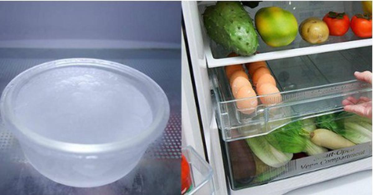 Đặt thứ này vào tủ lạnh, điều lạ xảy ra không chỉ với rau củ quả, mà với cả hóa đơn tiền điện cuối tháng - 2