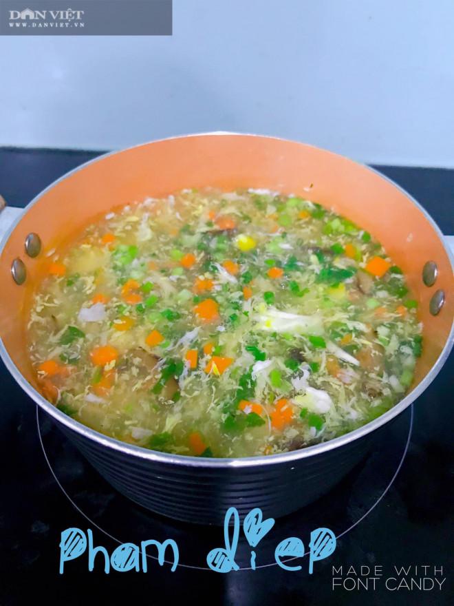 Bày cách nấu súp gà rau củ quả bổ dưỡng thơm ngon - 2