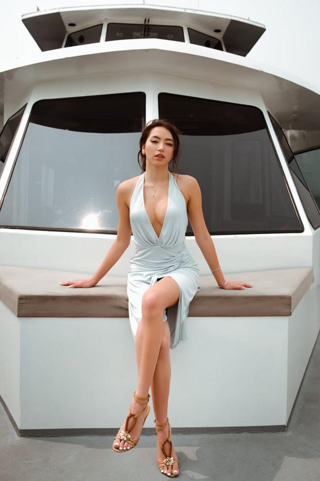 Con gái danh ca Thanh Hà đẹp gợi cảm ở tuổi 21 - 2