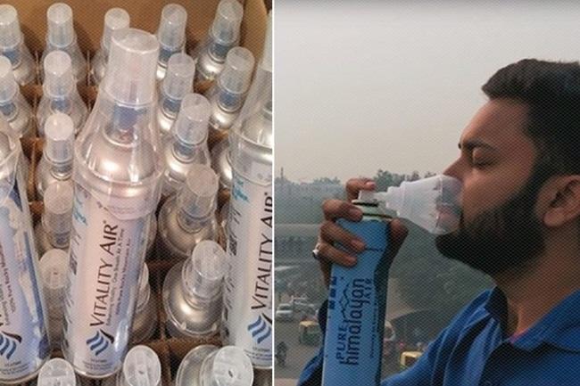 Năm 2015, tờ Telegraph đưa tin, công ty Vitality Air ở thành phố Edmonton, Canada bán các chai chứa không khí sạch sang nước ngoài.