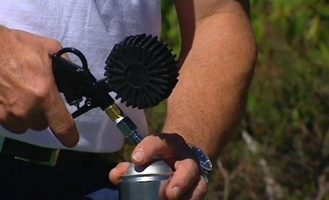 Không khí sạch được lấy từ các khu vực như Gold Coast, núi Blue Mountains, thung lũng Tassie và Yarra.
