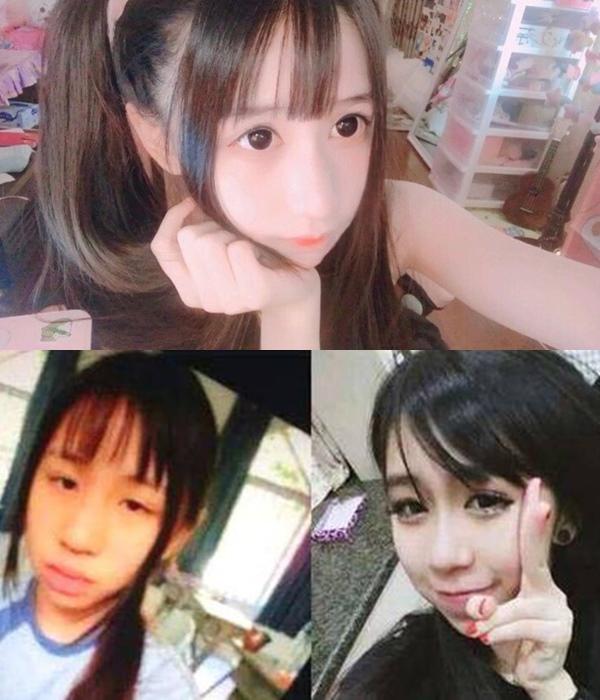 Hoảng hốt vì mặt mộc của các hot girl mạng xã hội Trung Quốc - 2