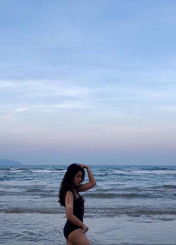 Con gái út nghệ sỹ Chiều Xuân ăn mặc gợi cảm khoe sức sống tuổi thiếu nữ - 10