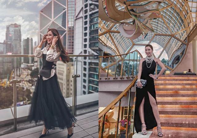 Nữ tiếp viên xinh đẹp giàu có bậc nhất Singapore là ai? - 11