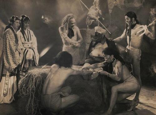 Bất ngờ với Tây Du Ký từ năm 1927: Trang phục hở hang, hoá trang như phim kinh dị - 7