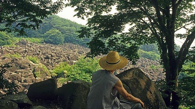 Miryang Maneosa: Hàng ngàn tảng đá nổi xung quanh ngôi đền cổ ở tỉnh Nam Gyeongsang này được cho là những con cá bị biến thành đá.