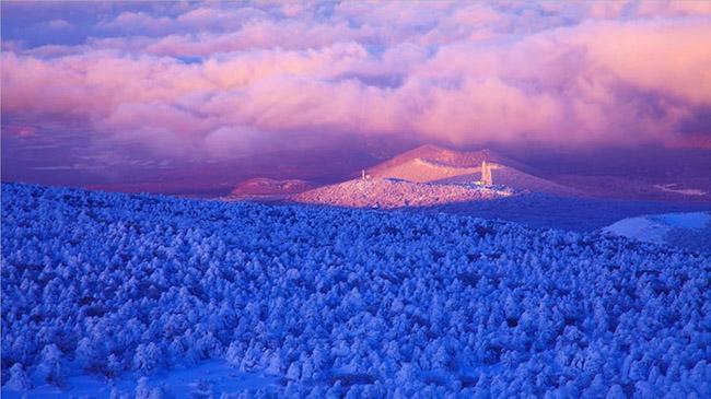Núi Halla: Ngọn núi cao nhất ở Hàn Quốc cũng là địa danh mang tính biểu tượng nhất của đảo Jeju và là ngôi nhà của khoảng 4.000 loài động vật khác nhau.