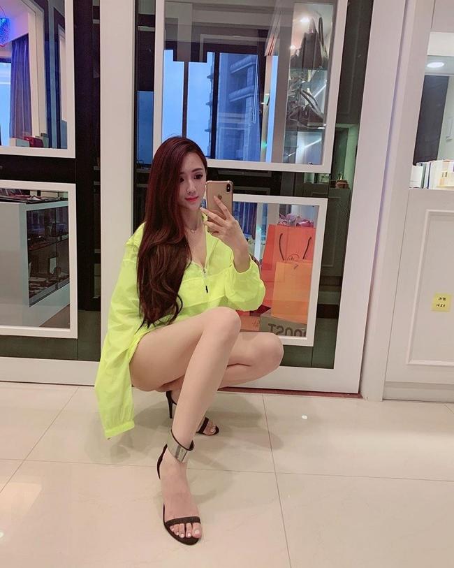 """Côđược coi là ứng cử viên sáng giá kế thừa ngôi vị """"Đệ nhất mỹ nhân xứ Đài"""" của siêu mẫu Lâm Chí Linh."""