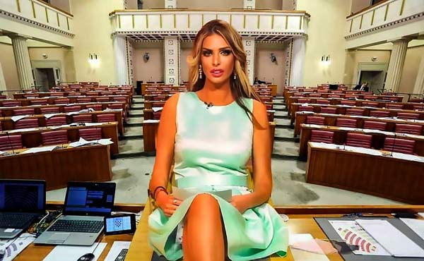 Người mẫu gợi cảm của tạp chí đàn ông sắp tranh cử Tổng thống Croatia - 1