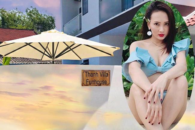 """Bảo Thanh - bạn diễn của Quốc Trường trong """"Về nhà đi con"""" cũng mua một căn biệt thự sang trọng ở Đà Nẵng làm nơi nghỉ dưỡng."""