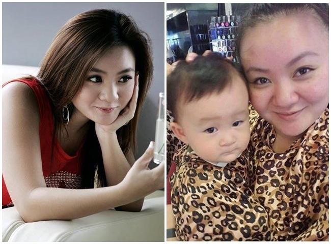 """Kha Ly khẳng định cuộc sống của giọng ca """"Con cò bé bé"""" rất hạnh phúc bên ông xã và các con."""