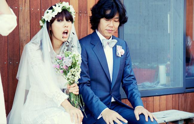 """Mặc dù là một cặp đôi """"vợ đẹp - chồng xấu"""" nhưng cuộc sống hôn nhân của Lee Hyori rất hạnh phúc."""