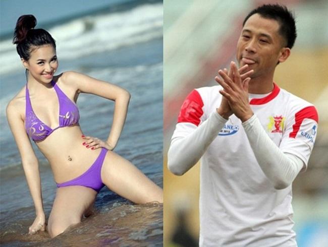 Khi còn thi đấu đỉnh cao, trung vệ Vũ Như Thành có tiếng là cầu thủ hào hoa bậc nhất làng bóng đá. Trong đó, người đẹp được quan tâm nhất chính là Đinh Ngọc Diệp.