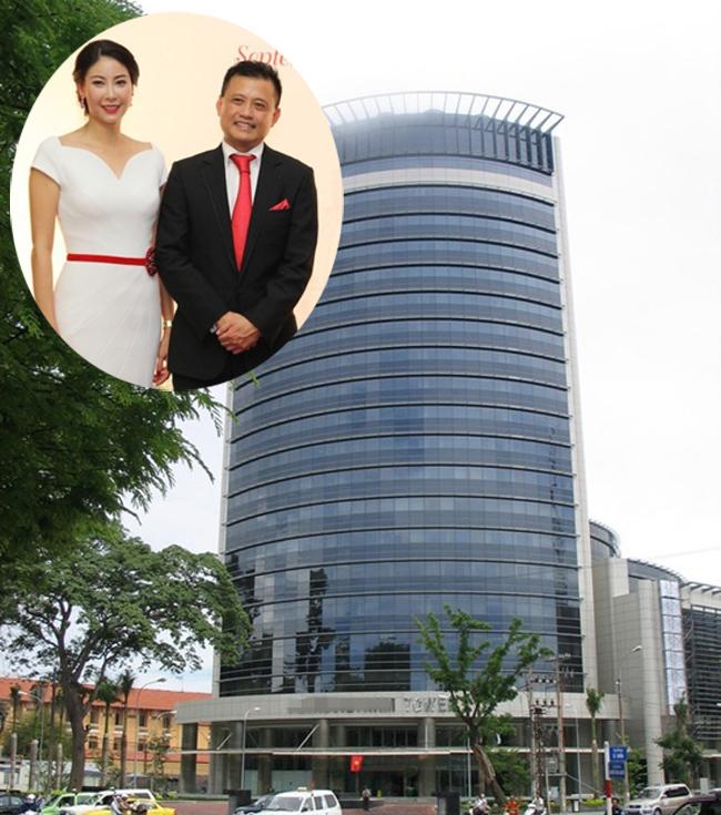 Ông xã của Hà Kiều Anh làHuỳnh Trung Nam, một doanh nhân thành đạt, nổi tiếng.