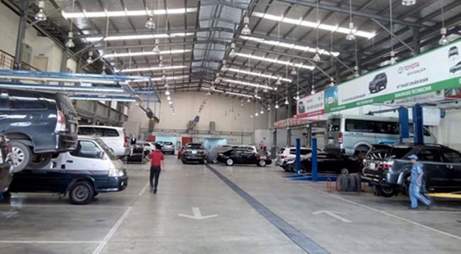 … đến hãng ô tô; khai thác, chế biến và kinh doanh đá cẩm thạch.