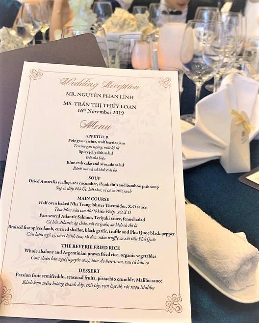 Đám cưới Bảo Thy gây choáng với thực đơn toàn sơn hào hải vị - 3