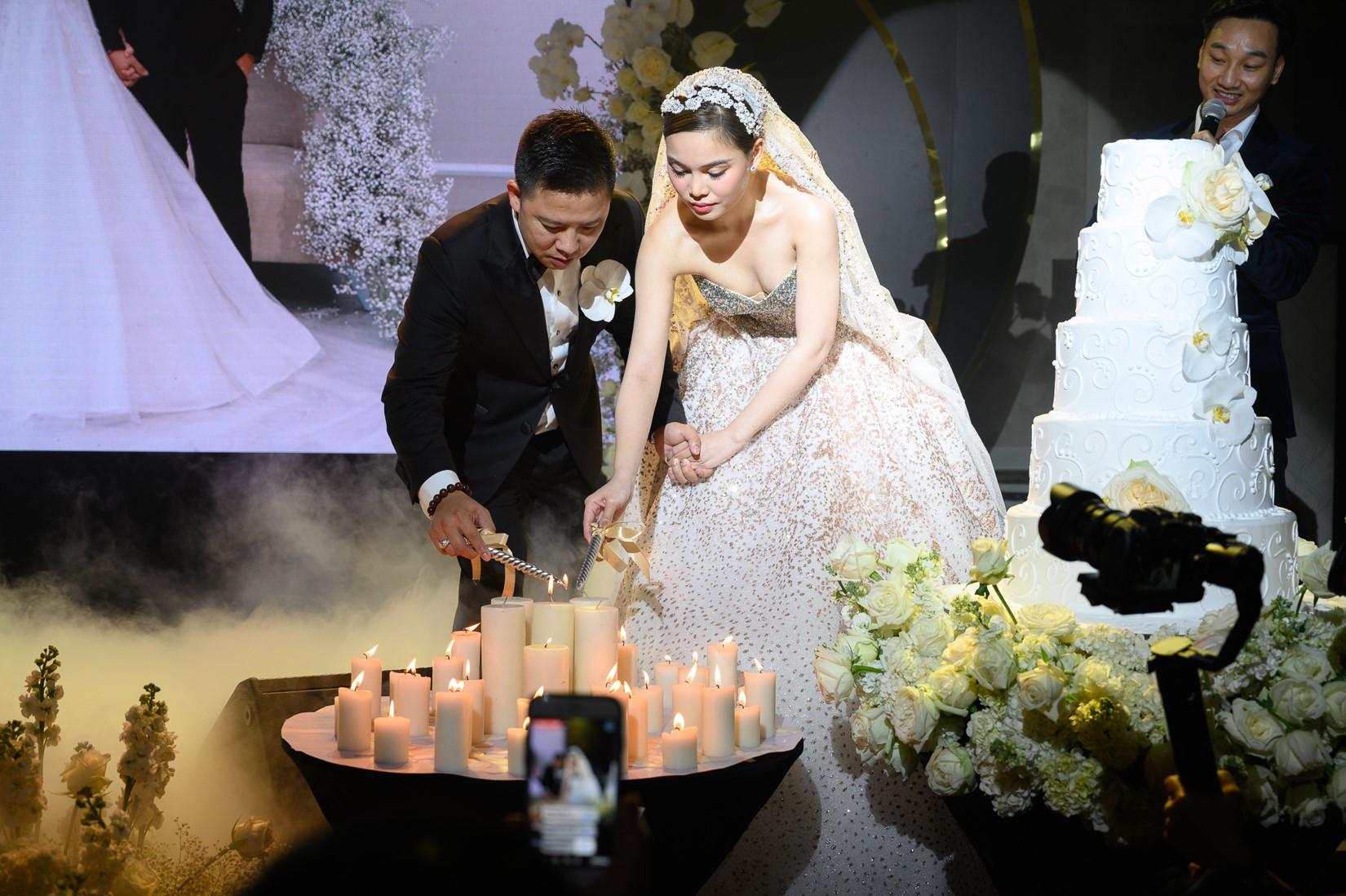 Đám cưới Bảo Thy gây choáng với thực đơn toàn sơn hào hải vị - 6