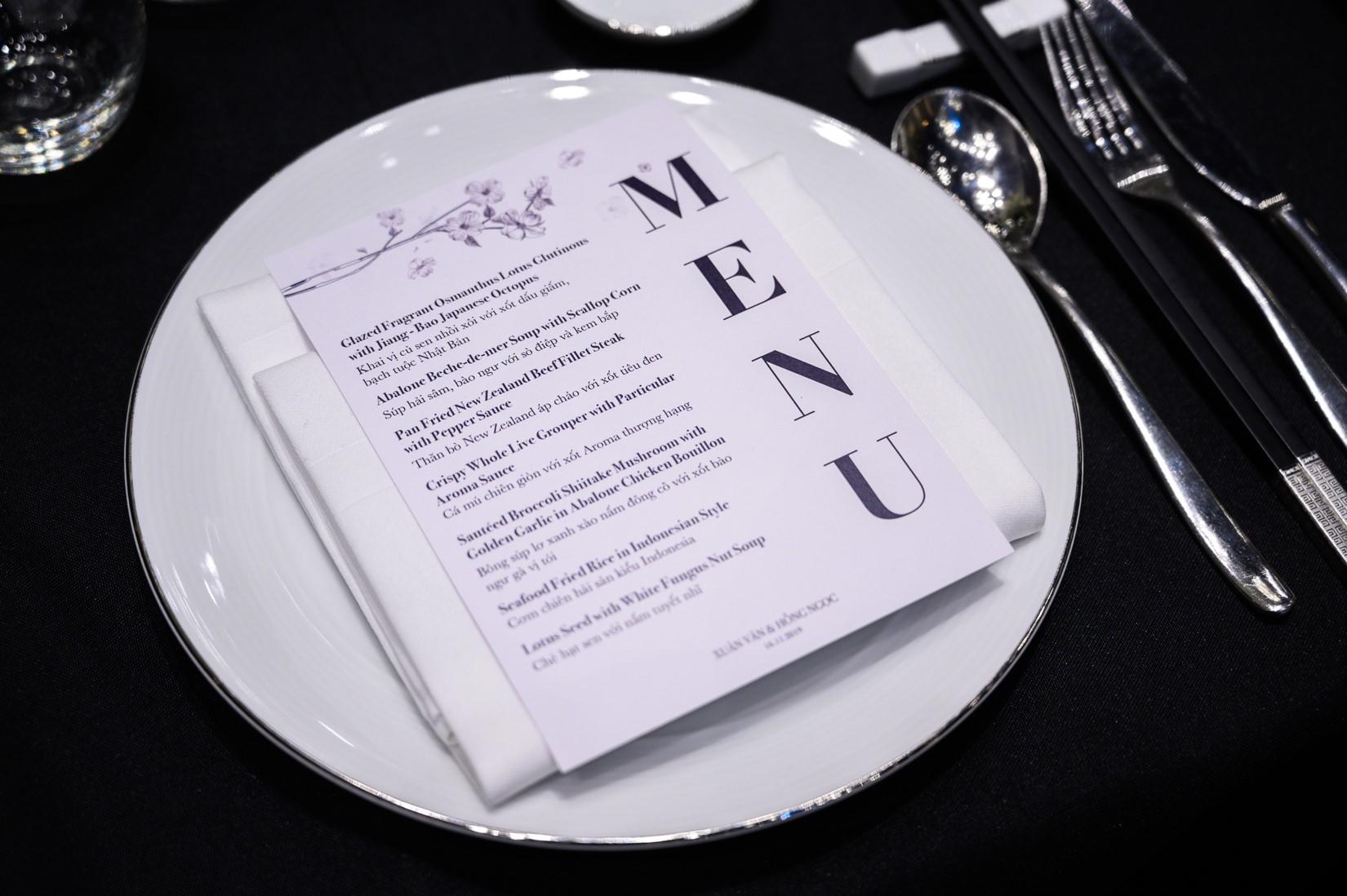 Đám cưới Bảo Thy gây choáng với thực đơn toàn sơn hào hải vị - 8