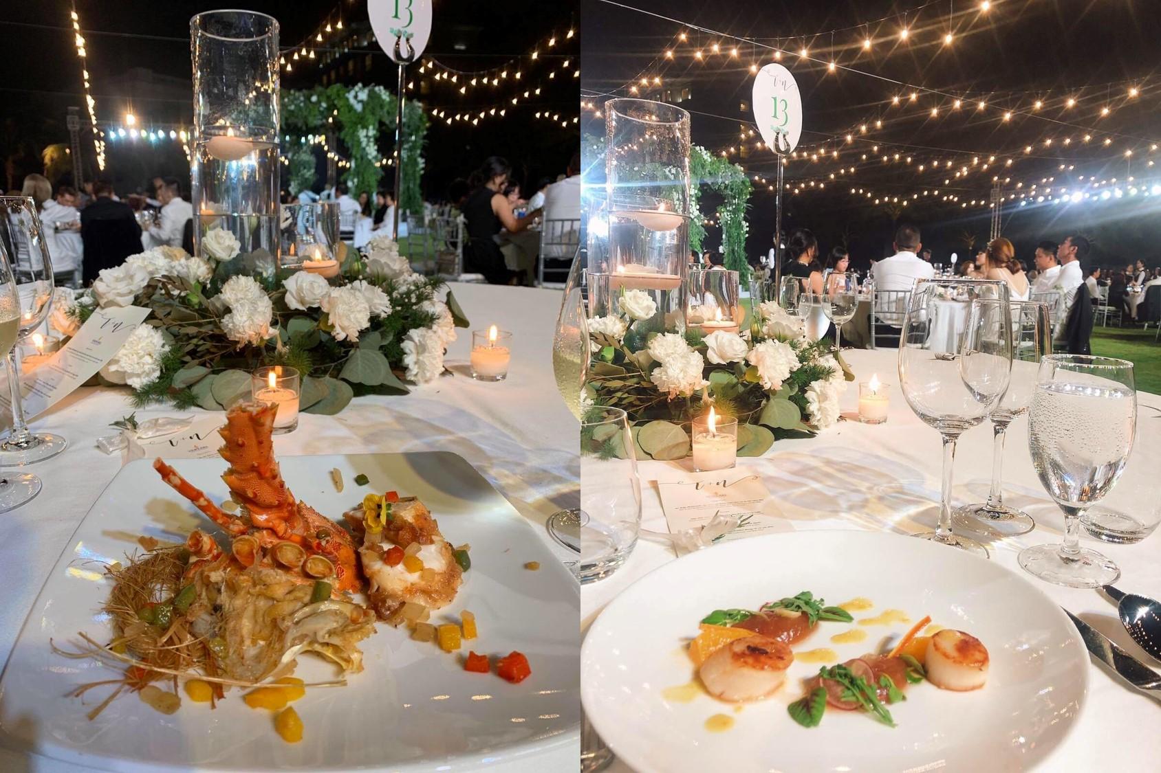 Đám cưới Bảo Thy gây choáng với thực đơn toàn sơn hào hải vị - 13