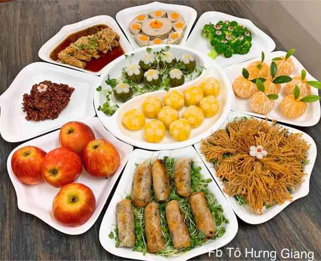 Mê tít mâm cơm đã ngon lại đẹp của mẹ đảm Hà thành, kéo cả chồng lẫn hai con trai vào bếp - 2