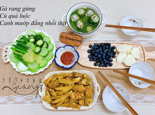Mê tít mâm cơm đã ngon lại đẹp của mẹ đảm Hà thành, kéo cả chồng lẫn hai con trai vào bếp - 11