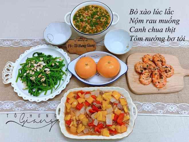 Mê tít mâm cơm đã ngon lại đẹp của mẹ đảm Hà thành, kéo cả chồng lẫn hai con trai vào bếp - 15