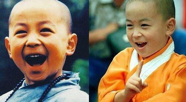 Mới 5 tuổi, Thích Tiểu Long đã lọt vào mắt xanh của công ty điện ảnh Đài Loan và quay bộ phim Tiếu Lâm tiểu tử (tên khác: Toàn phong tiểu tử). Sau đó, cậu liên tục tham gia các bộ phim Tân Ô Long Viện, Rồng Trung Quốc, Mười anh em, Vô địch phản đấu tinh, Thiên ngoại phi thiên, Thời niên thiếu Bao Thanh Thiên 1,2,3...