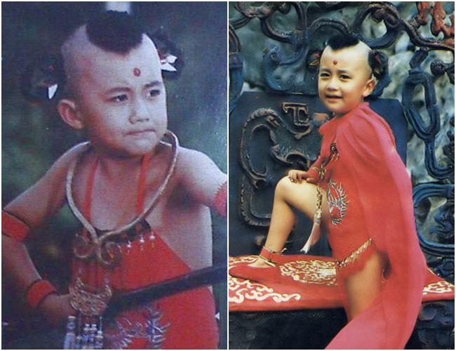Triệu Hân Bồi, sinh năm 1977 ở Bắc Kinh cũng là một trong những trường hợp thành sao chỉ sau một đêm. Năm 1985, Triệu Hân Bồi lọt vào mắt xanh của đạo diễn Dương Khiết, được mời đóng vai Hồng Hài Nhi trong bộ phim kinh điển Tây Du Ký 1986. Khi đó, gương mặt dễ thương nhưng không kém phần lém lỉnh của Triệu Hân Bồi đã khiến đạo diễn Dương Khiết vô cùng hài lòng.