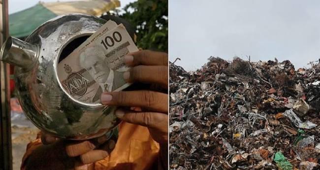 Hồi tháng 7 vừa qua, anh Mohamad Fahmi Abdul Aziz, sống ởMalaysia tìm thấy chiếc ấm đun nước trongkhi nhặt nhạnhcác thứ có thể tái chế ở bãi rác.