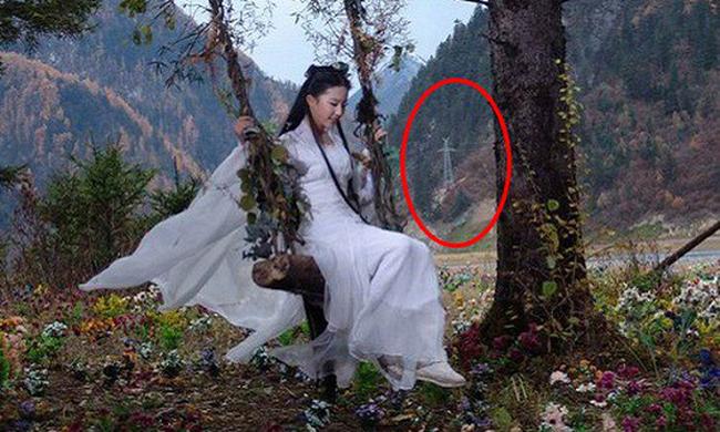 Đến phim của Thần tiên tỷ tỷ Lưu Diệc Phi cũng không tránh được sai sót.