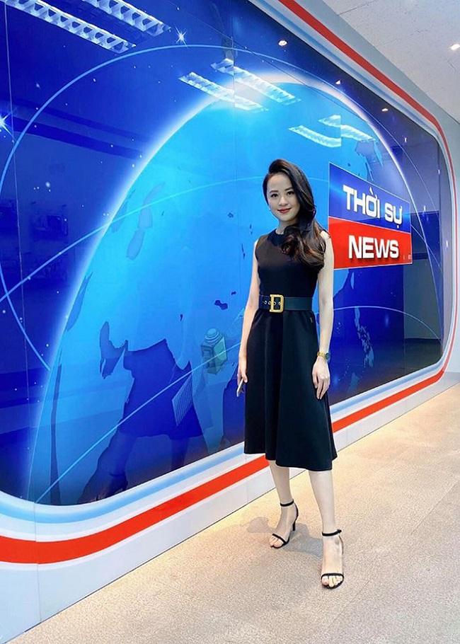 """Ngoài chương trình """"Bản tin thời tiết"""", Ngọc Bích còn được yêu mến khi dẫn dắt chương trình """"Chuyển động 24h""""."""