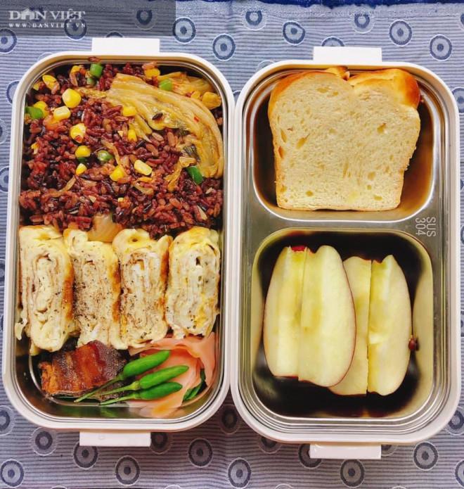 Gợi ý thực đơn cơm hộp mang đi làm tiện lợi, đủ chất, không tăng cân - 6