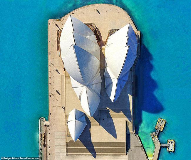 Những tòa nhà ấn tượng nhất thế giới khi chụp từ trên cao - 3
