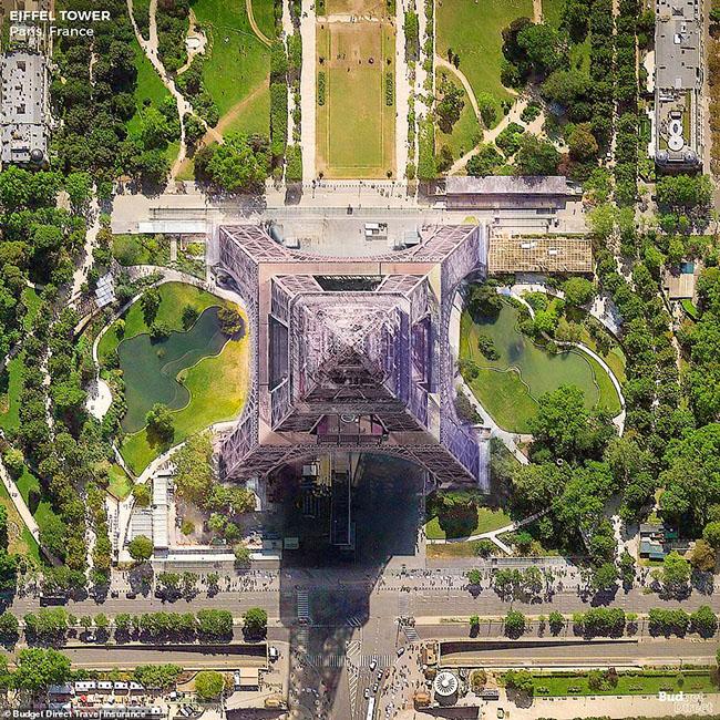 Những tòa nhà ấn tượng nhất thế giới khi chụp từ trên cao - 5