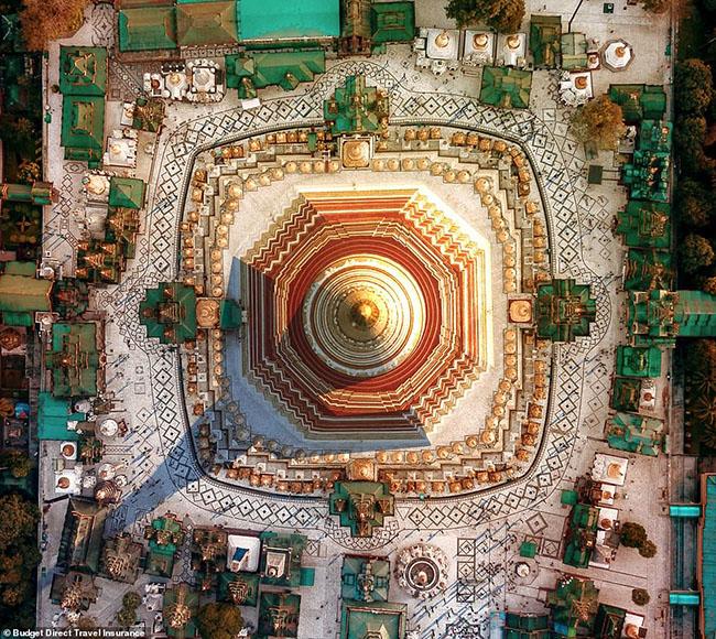 Những tòa nhà ấn tượng nhất thế giới khi chụp từ trên cao - 6