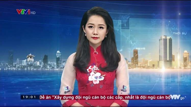 Nữ MC xinh đẹp nổi tiếng của bản tin Thời sự 19h VTV tiết lộ