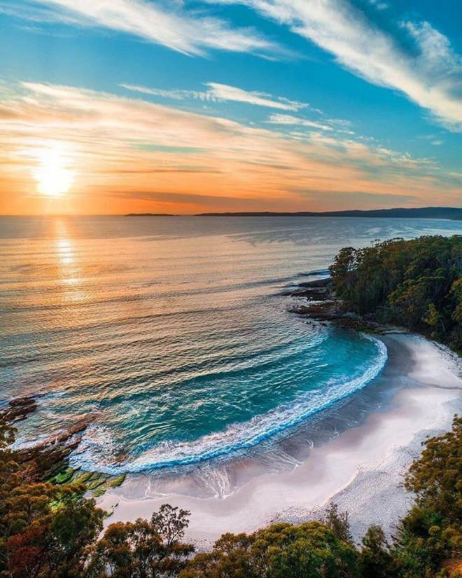 Tảo phát quang khiến bãi biển rực sáng vào ban đêm - 2