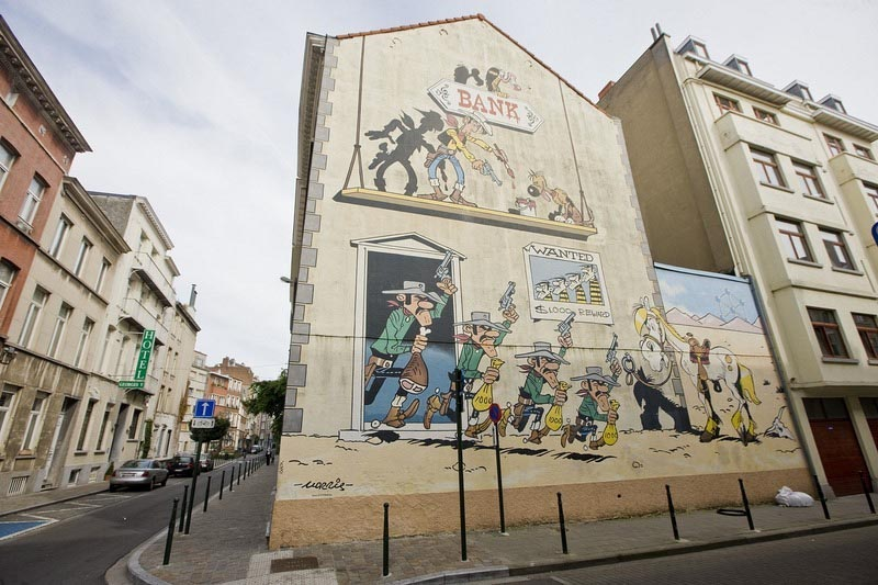 Phim hoạt hình trên đường phố bất cứ nơi nào ở Bỉ - 7