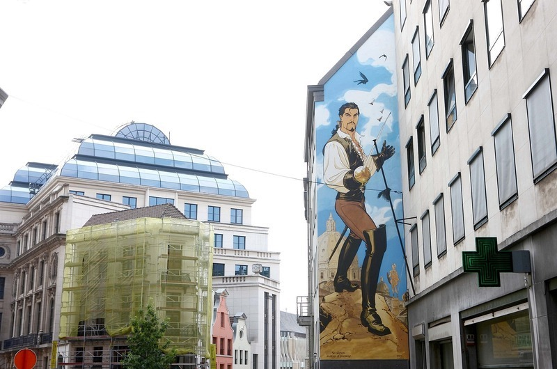 Đường phố hoạt hình ở Bỉ, phim hoạt hình ở khắp mọi nơi - 8