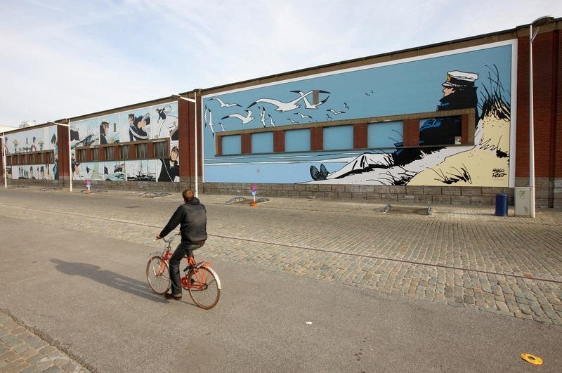 Đường phố hoạt hình ở Bỉ, hình ảnh hoạt hình trên đường phố mọi lúc mọi nơi - 9